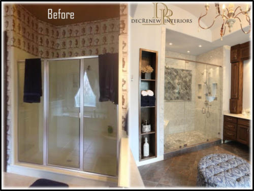 Master Bath - Before and After